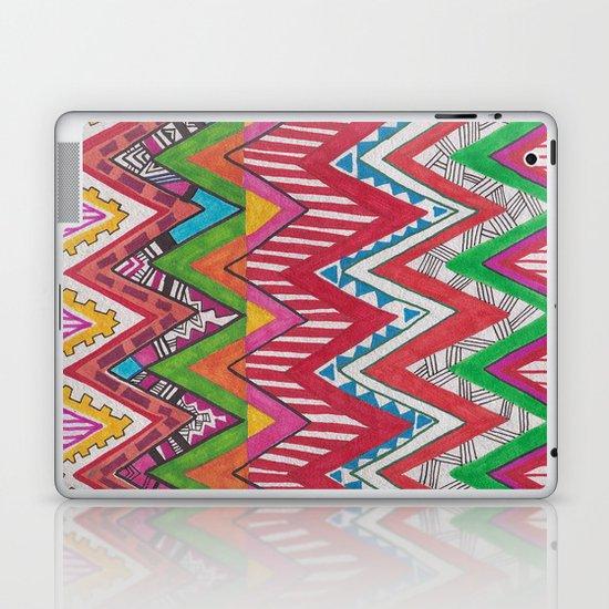 Peruvian Waves Laptop & iPad Skin