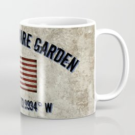 Madison Square Garden, Longitude and Latitude Coordinates Coffee Mug