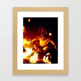The Monkey King Framed Art Print