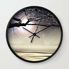 The Ice Storm - New England Wall Clock