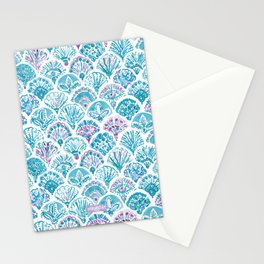 OMNISCIENT MERMAID All-Seeing Eye Scallop Stationery Cards