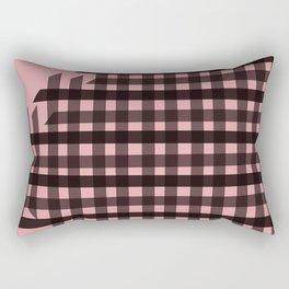 Bingham: Pink Rectangular Pillow