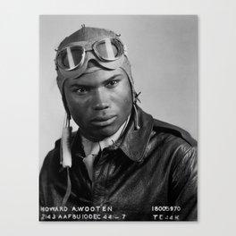 Howard A. Wooten - Tuskegee Airman Canvas Print