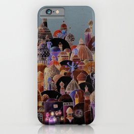 The city of Diomira iPhone Case