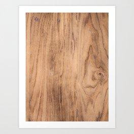 Wood Grain #575 Art Print