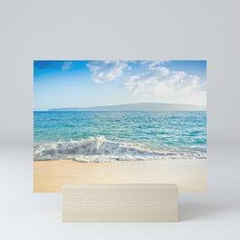 Oneloa Big Beach Makena Maui Hawaii Mini Art Print