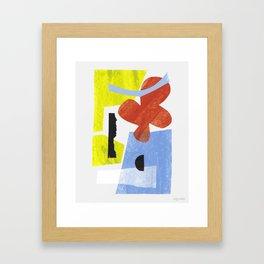 Aerogramme III Framed Art Print