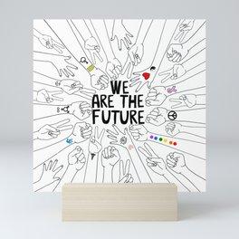 We Are The Future Tattoos Part 2 Mini Art Print