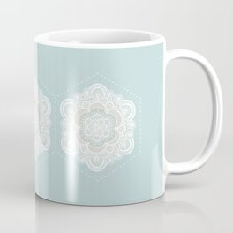 Floral Lace I Coffee Mug