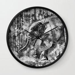 AnimalArtBW_Elephant_20170601_by_JAMColorsSpecial Wall Clock