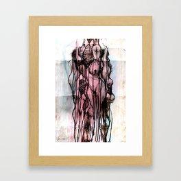 Eyes Wide Shut Framed Art Print