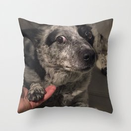 Shady Dealings Throw Pillow