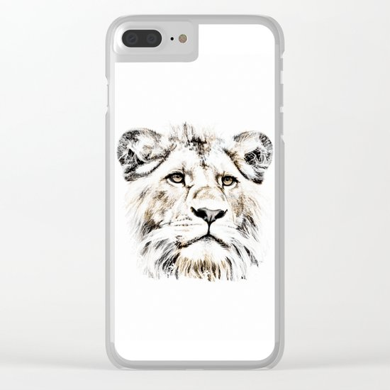 LION 4 Clear iPhone Case