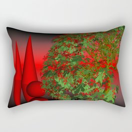 where the landscape is different Rectangular Pillow