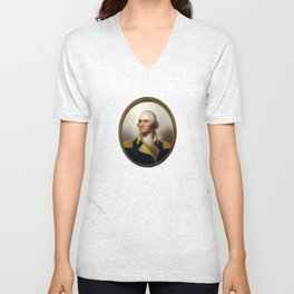 General George Washington Unisex V-Neck