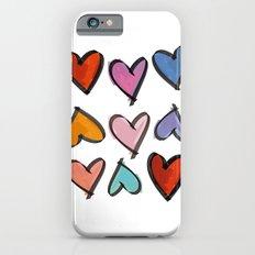 Hearts 2 iPhone 6s Slim Case