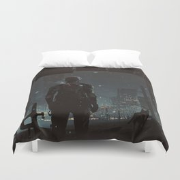 After fall Duvet Cover