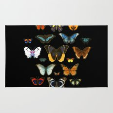 Entomology (Black) Rug