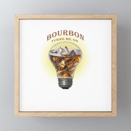A Turn On Framed Mini Art Print