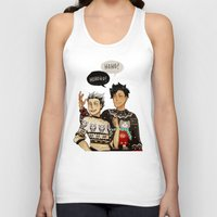 haikyuu Tank Tops featuring Hohoho? by rhymewithrachel