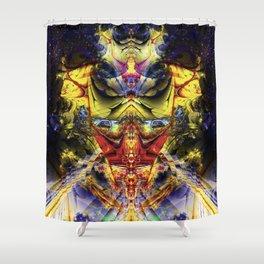 Interdimensional Oversight Shower Curtain