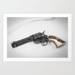 Guns Of The Old West - Colt .45, #4 Art Print