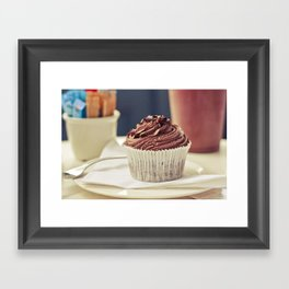 De chocolate Framed Art Print