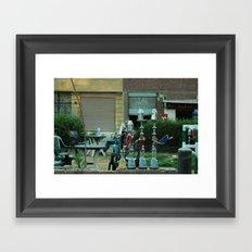 Shisha Framed Art Print