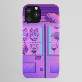 Neon Vending Machines iPhone Case