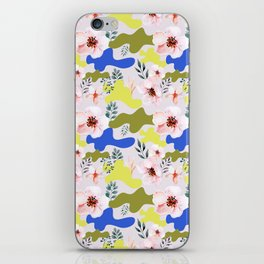 Floral Cameo iPhone Skin