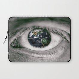 Die Welt mit deinen Augen sehen ! Laptop Sleeve