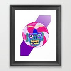 CANDYADDICT MONKEY Framed Art Print