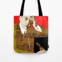 Sergei Rachmaninov Tote Bag