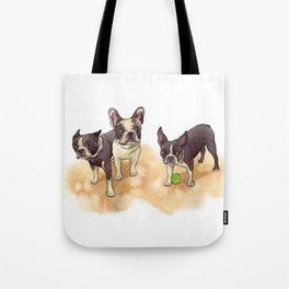 Bubba, Spanky & Figgy Tote Bag