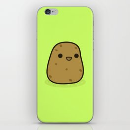 Cute potato iPhone Skin