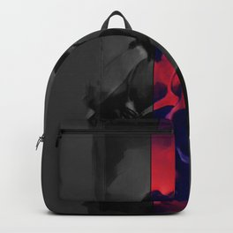 Charcoal and Lace Backpack