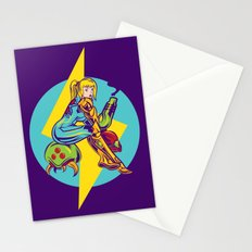 Femme Fatale Hunter  Stationery Cards
