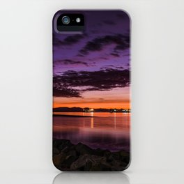 W E S T  C O A S T  S U N S E T iPhone Case