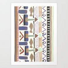 Pattern 004 Art Print