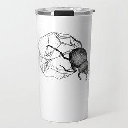 Dung beetle Travel Mug