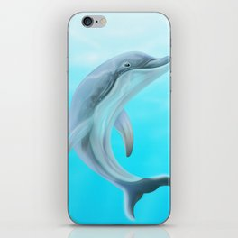 Dolphins Swimming in the Ocean iPhone Skin