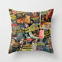 Charlie Chan Throw Pillow