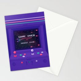 INSERT COIN Stationery Cards