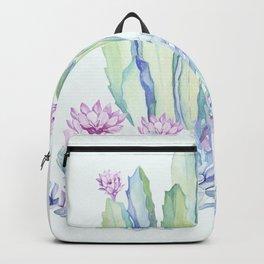 Mixed Cacti Light Blue #society6 #buyart Backpack