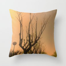 Spiritual trees Throw Pillow