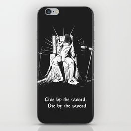 Fencer's Creed iPhone Skin
