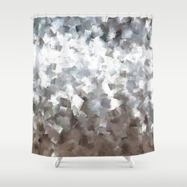 Shiny scales Shower Curtain