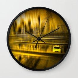 City-Shapes NYC Wall Clock
