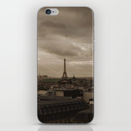 Rooftop view of Paris iPhone Skin