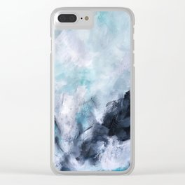 Wave Form Clear iPhone Case